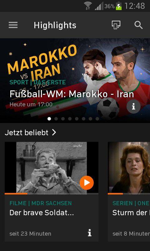 Die besten fernseh apps f r android pc welt for Spiegel tv mediathek download