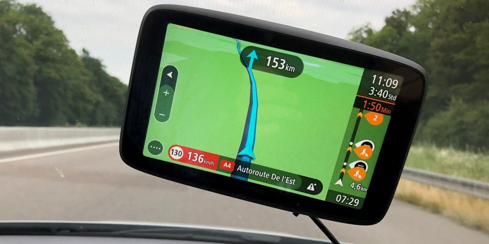 tomtom go camper im test zuverl ssiges smartes navi mit. Black Bedroom Furniture Sets. Home Design Ideas