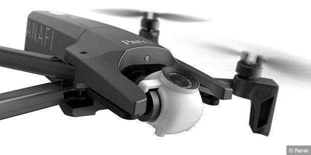 Parrot Anafi im Test: Gute Drohne mit No-Gos - PC-WELT