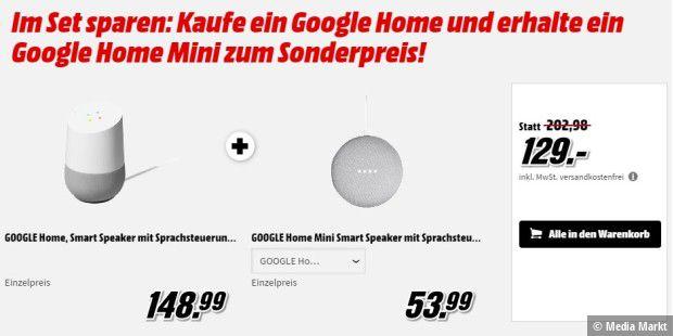media markt google home home mini zum schn ppchen preis. Black Bedroom Furniture Sets. Home Design Ideas