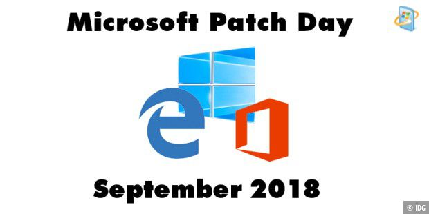 Patch Day September 2018