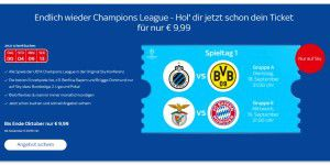 Skyticket Supersport: 1 Tag zahlen, 1 Monat streamen