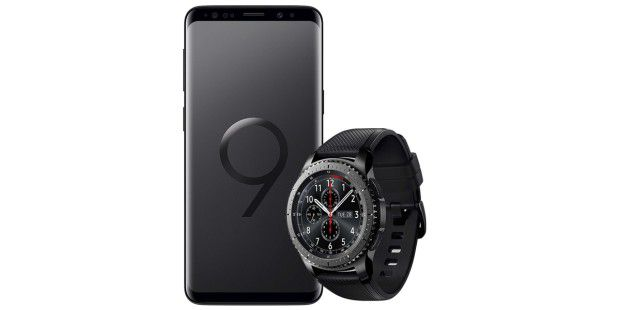 galaxy s9 mit gear s3 f r kurze zeit extrem g nstig pc welt. Black Bedroom Furniture Sets. Home Design Ideas