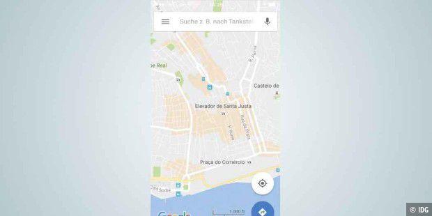 die besten android tipps f r google maps pc welt. Black Bedroom Furniture Sets. Home Design Ideas