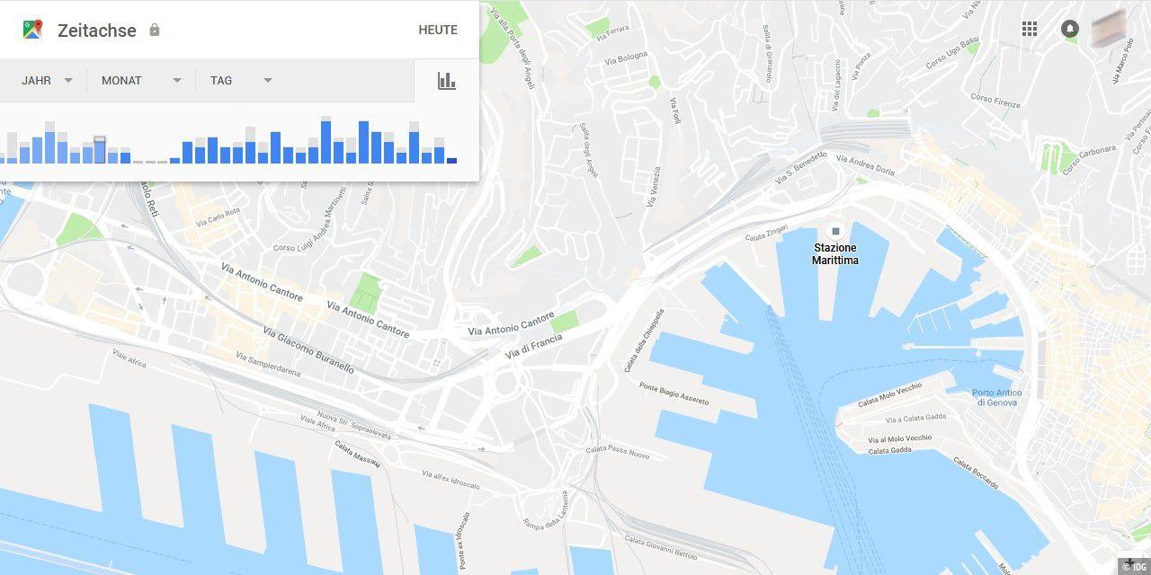 Google Standortverlauf Genauigkeit