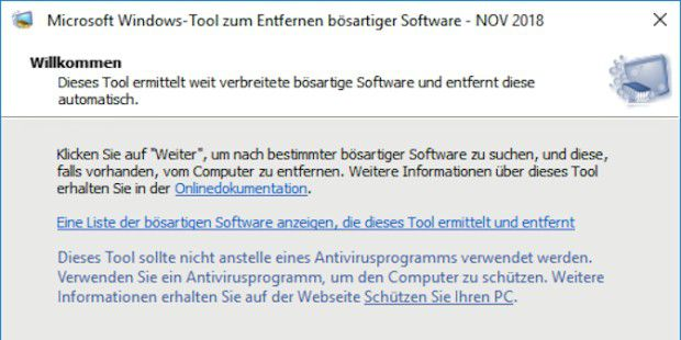 Windows-Tool zum Entfernen bösartiger Software, Version 5.66