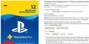 20% gespart: 12 Monate Playstation-Plus-Abo