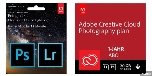 Adobe Creative Cloud Foto-Abo im Amazon Tages-Angebot