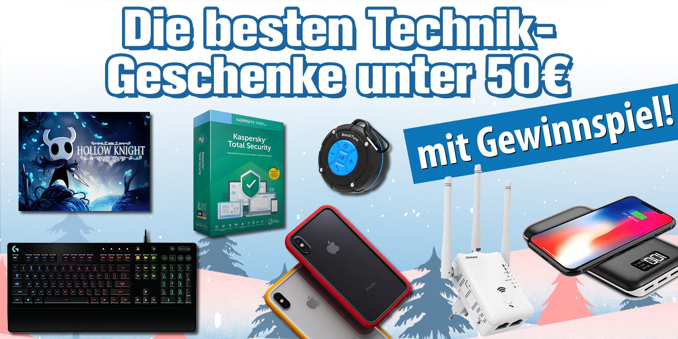 Anzeige: Die besten Technik-Geschenke unter 50 Euro - PC-WELT