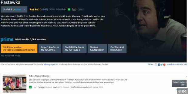 Amazon Prime Video: BLM verbietet