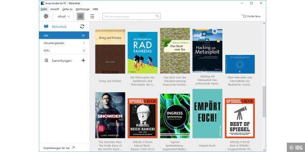 Kindle Apps E Books Offline Verfugbar Halten Pc Welt