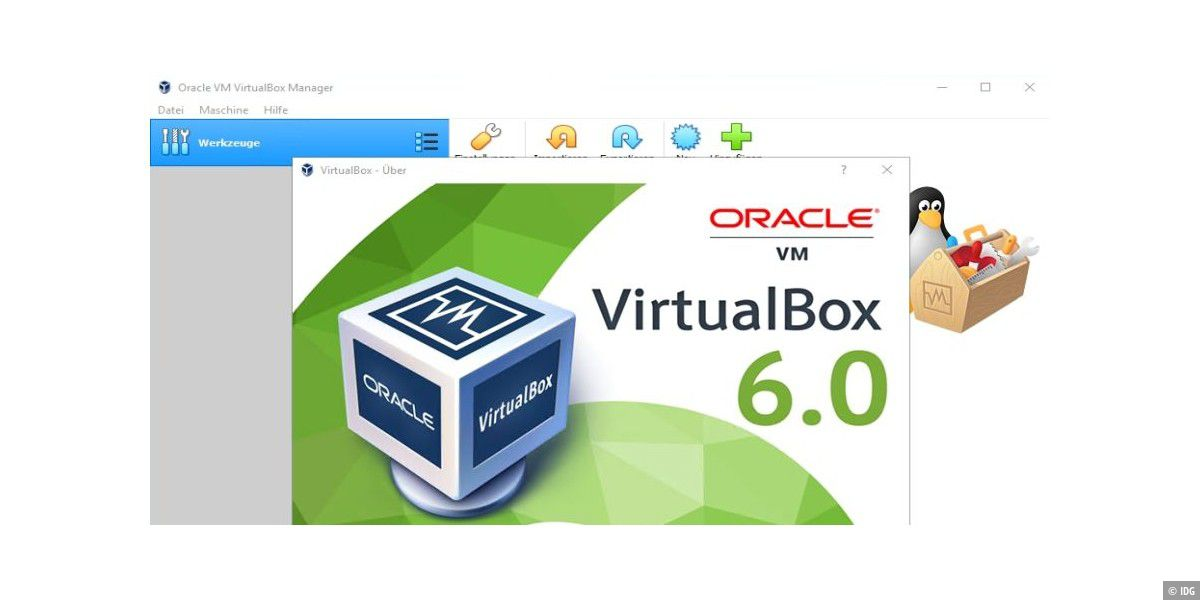 Virtualbox: Tipps zum Optimieren der VM