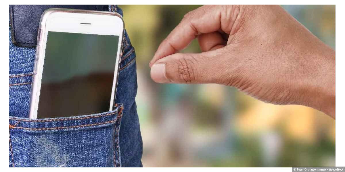 Diebstahl-Schutz für Laptops, Handys & Co.
