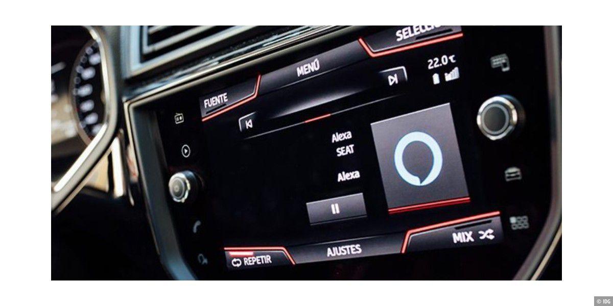 Alexa im Audi e-tron: Klappt auch ohne Smartphone