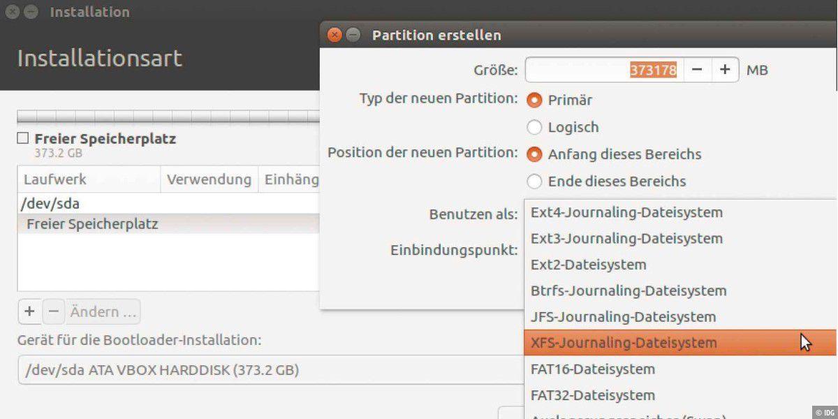 Linux-Know-How: 'mount points' und Dateisysteme