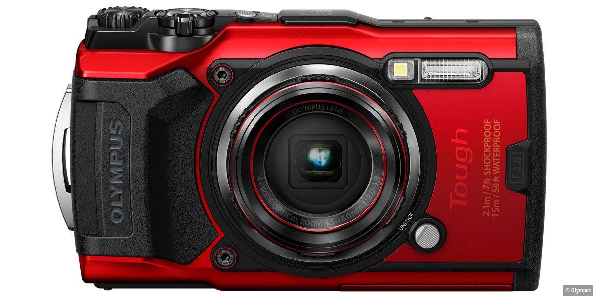 Olympus stellt Outdoor-kamera Tough TG-6 vor