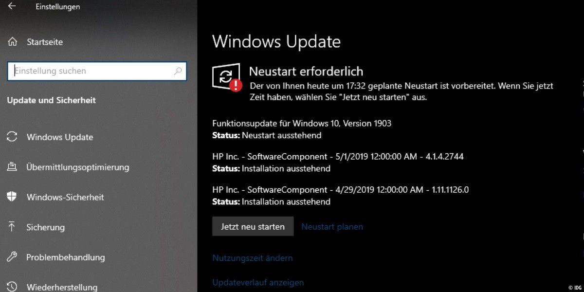 Gestrichene Funktionen im Windows 10 Mai-Update