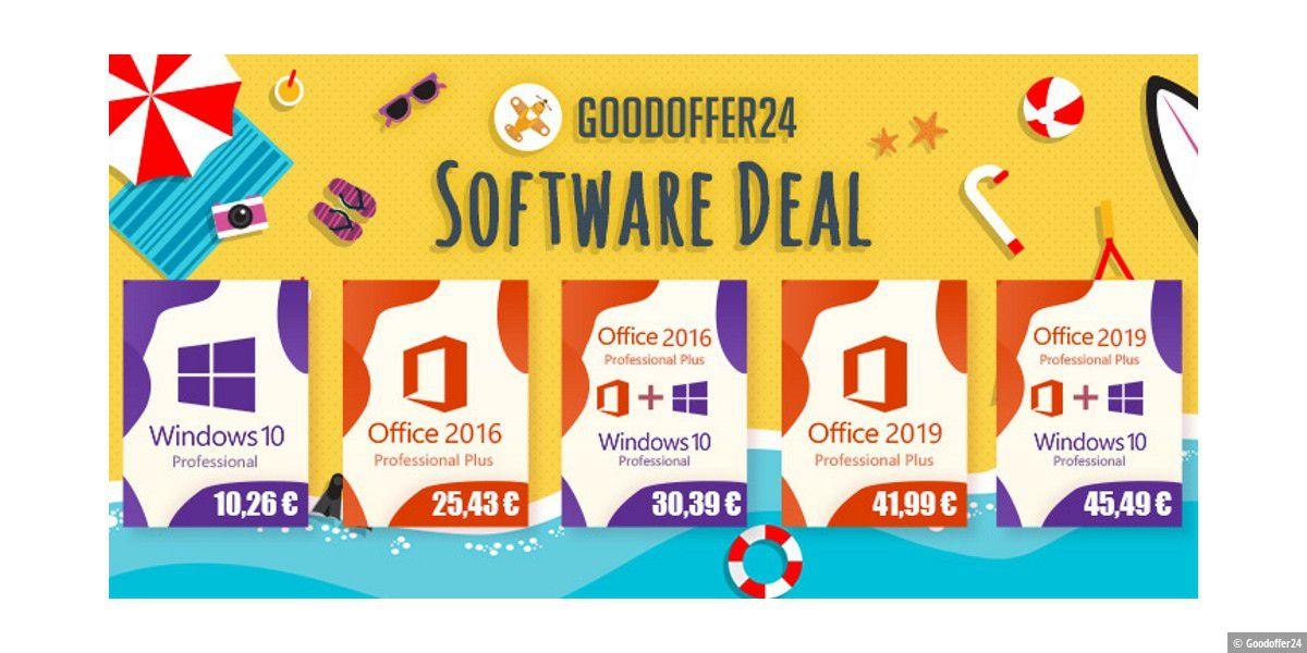 Windows 10 und Office 2016 fast geschenkt!