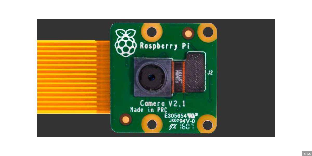 IP-Kamera im Eigenbau: So geht's mit dem Raspberry Pi