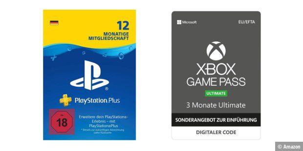Playstation Plus Karte 12 Monate.Xbox Game Pass Und Playstation Plus Im Angebot Pc Welt