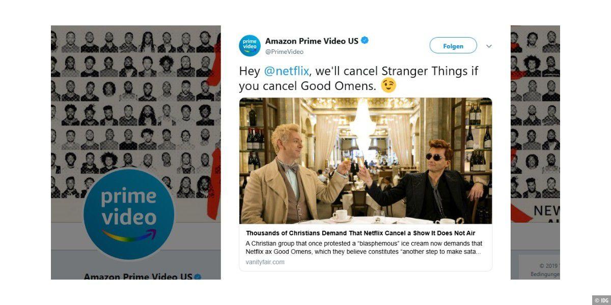 "Amazon ""droht"" Netflix mit ""Stranger Things""-Stopp"