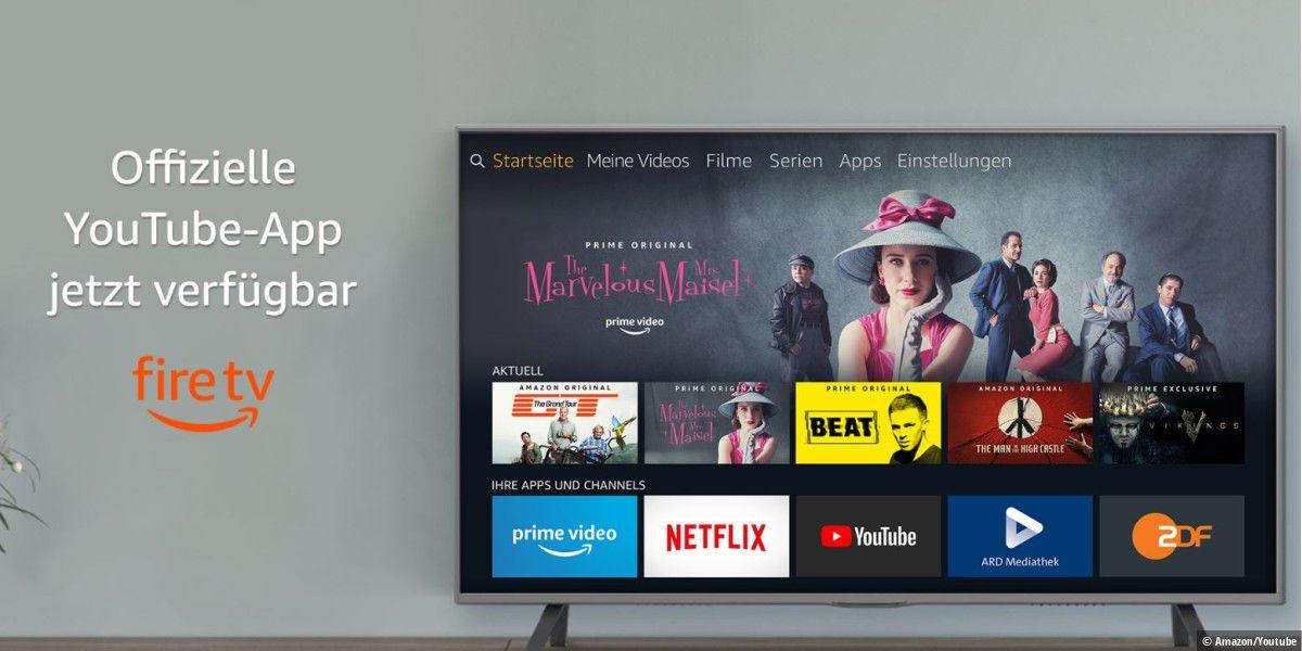 Amazon: Youtube-App für Fire TV ist zurück