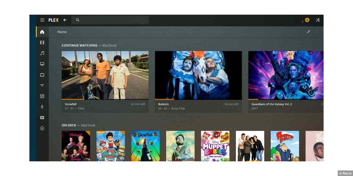 Plex: Desktop-App für Windows und macOS