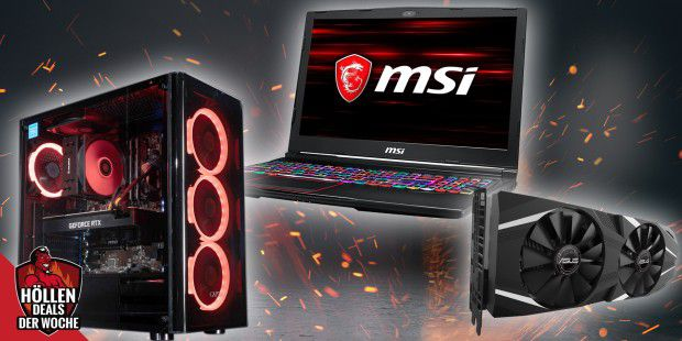 Gaming-PCs, -Laptops & RTX-GPUs - Höllen-Deals #1
