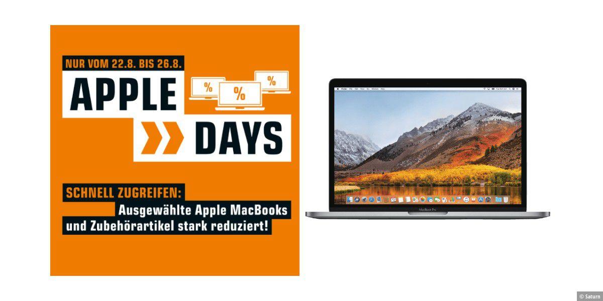 Apple Macbooks zu reduzierten Preisen bei Saturn