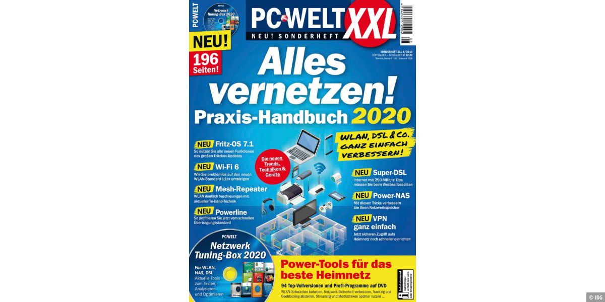 PC-WELT XXL 8/2019 Alles vernetzen!