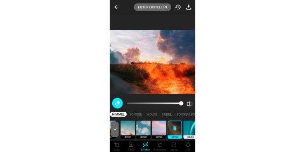 Foto bearbeiten hintergrund unscharf app