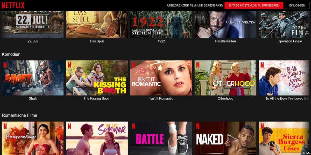 So sehen Sie Netflix-Inhalte in 4K