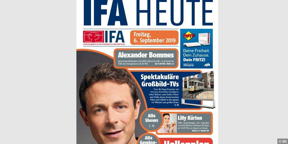 IFA heute: Die offizielle Messe-Zeitung zum Download