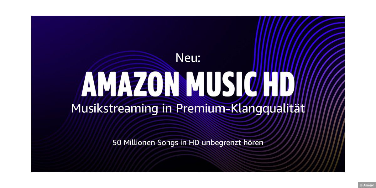 Amazon Music HD: Musikstreaming in Ultra-HD