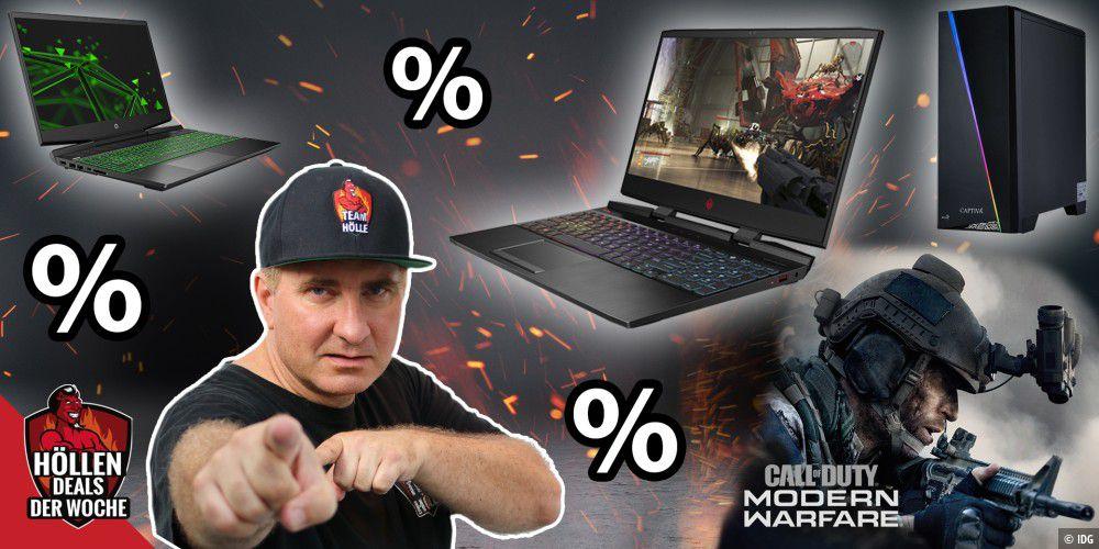 Gaming-PC-Schnäppchen mit GRATIS CoD: Modern Warfare - Höllen-Deals 4/2019