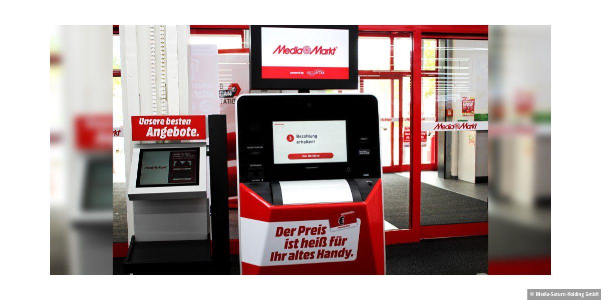 Automat tauscht alte Handys gegen Geschenkkarten