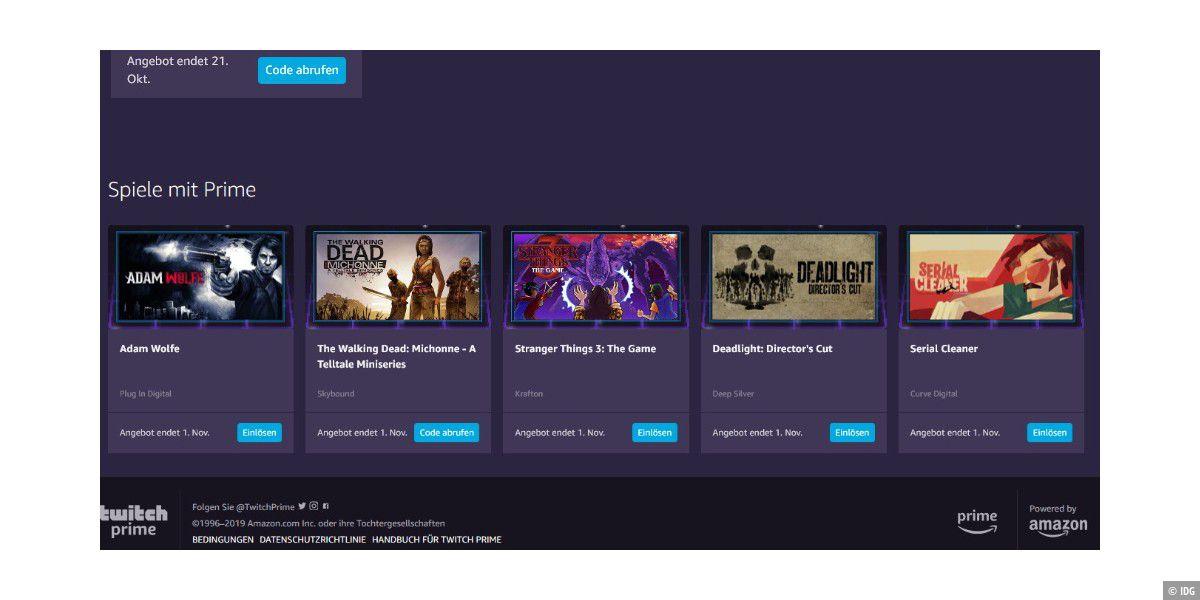 Amazon verschenkt 5 PC-Spiele an Prime-Nutzer