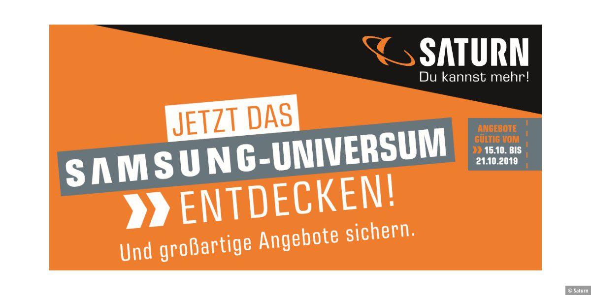 Massig Samsung-Angebote im neuen Saturn-Flyer