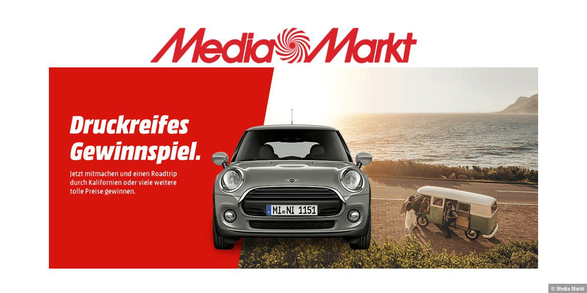 Media Markt: Druckerpatrone kaufen und gewinnen