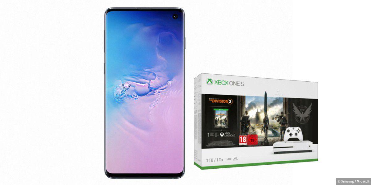 Galaxy S10 mit Xbox One S und 10-GB-Tarif für 1,75 Euro