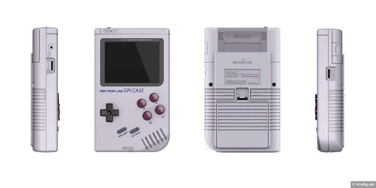 Gpi Case macht Raspberry Pi zum Game Boy