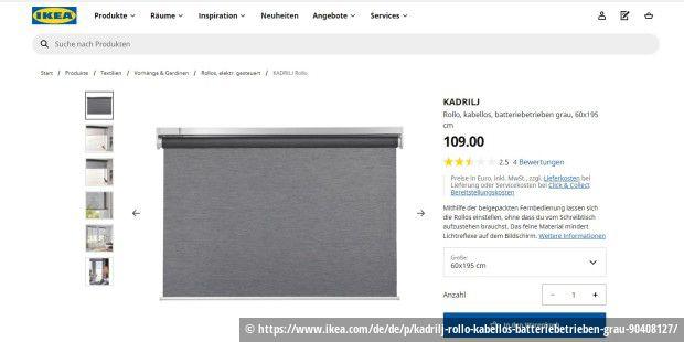 Alexa Steuert Jetzt Ausgewählte Ikea Jalousien Pc Welt