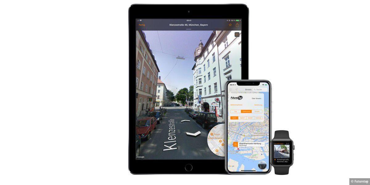 Street View App: 3D-Panorama für die Apple Watch