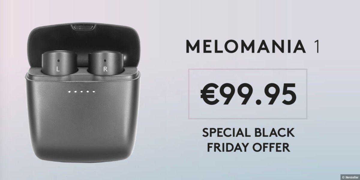 Airpod-Konkurrenz Melomania 1 True Wireless für 100€