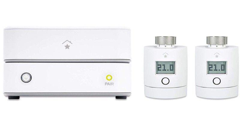 Digital Thermostat Funksteckdose kabellos Thermoschalter Controller Für Heizung