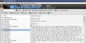 Gaming: CheatBook DataBase 2020