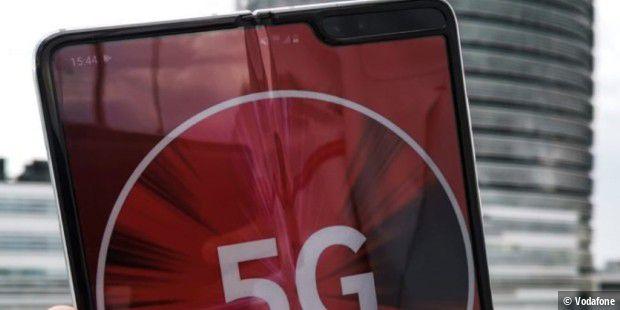 Vodafone beschleunigt 5G auf bis zu 1 Gigabit
