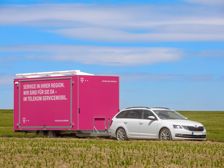 Deutsche Telekom testet Servicemobil für Kunden