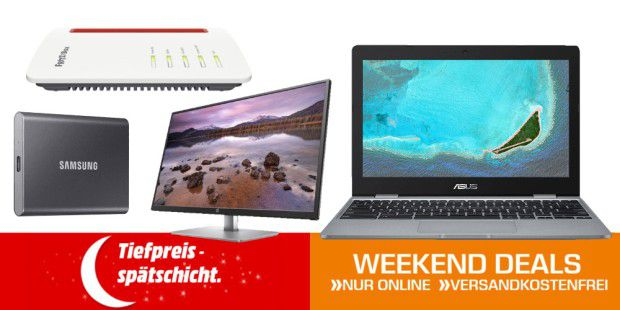 Weekend-Deals: Chromebooks + weitere Top-Angebote
