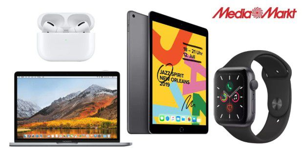 Apple Weekend: Tolle Apple-Deals bei Media Markt